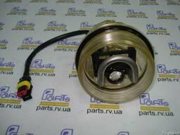 Крышка-отстойник фильтра сепаратора с подогревом