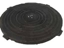 Крышка среднего люка полимерпещаного чёрная Д-645 (В125)