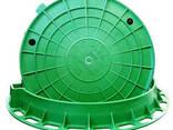 Крышки к люкам полимер-песчаные серии Л, С, Т, ГТС Т в. .. - photo 1