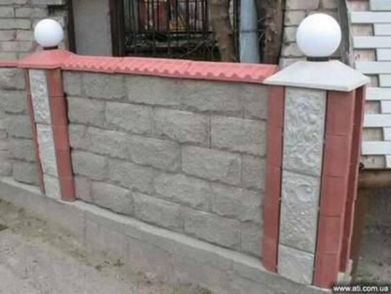 Крышки на забор купить Николаев Парапеты, крышки для заборов