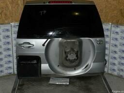 Крышку багажника под запаску в сборе на Тойота Прадо 120
