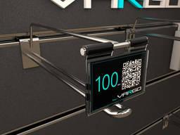 Крючки для экономпанелей  с ценникодержателем 150 мм