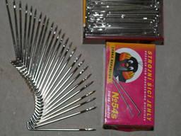 Крючки, иглы, проколы к ниткошвейной машине БНШ-6, Бремер-381