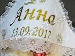 Крыжма для девочки Анна