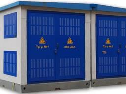 Подстанции трансформаторные комплектные КТПЦ 250…2500/10(6)/0, 4 УЗ