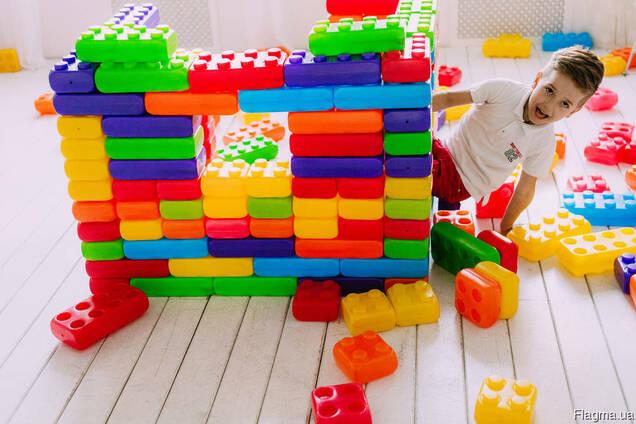 """Кубики конструктор дитячий """"Мега Куб"""", большие кубики"""