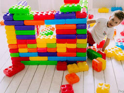 Большой конструктор, кубики детские, кубики для игровых зон