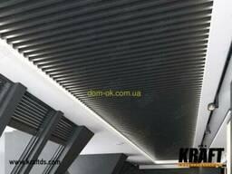 Кубообразная рейка ширина профиля 88 мм RAL 7024 (графит)...
