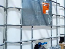 Кубовая емкость 1т , еврокуб (IBC), в металлической оплетке - фото 4