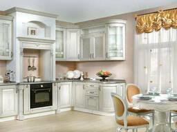 Кухня в Классическом Стиле Мебель/Дверь/Окно