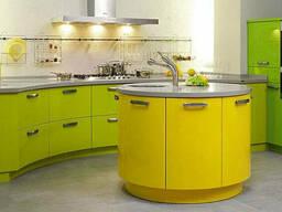 Кухонная Мебель в Жёлтом Цвете