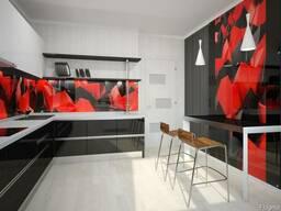 Кухонные Стеклянные Скинали Экраны Фартук из Стекла