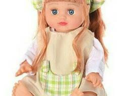 Кукла Joy Toy Алина в рюкзаке, мал (5066/69/75/76)