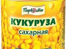 Кукуруза горошек консервированные