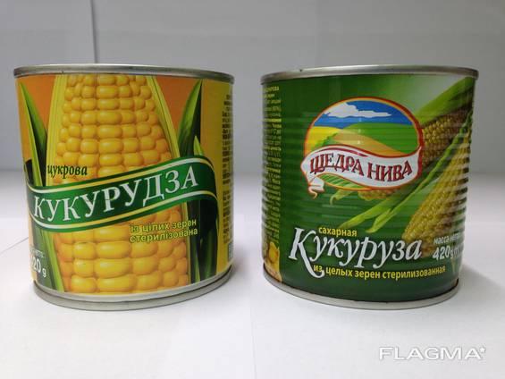 "Кукуруза ""Щедра нива"", 420 г"