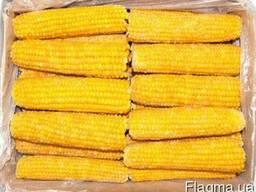 Кукуруза сладкая в качанах замороженная