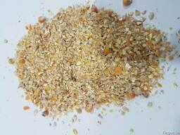 Кукурузная кормовая крупа