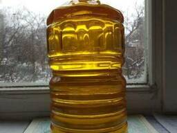 Кукурузное масло рафинированное в 5 л бутылях.