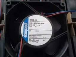 Кулер EBM- Pарst (Осевой вентилятор постоянного тока)