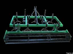 Культиватор для минитрактора КН-1, 6 М сплошной обработки