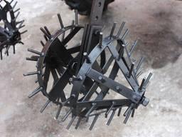 Культиватор ежики на минитрактор (колеса рыхления) їжак окучник