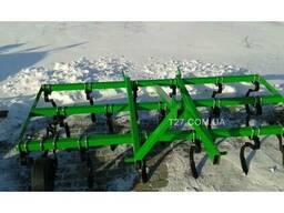 Культиватор пружинный сплошной обработки 2, 5 м навесной (Пол