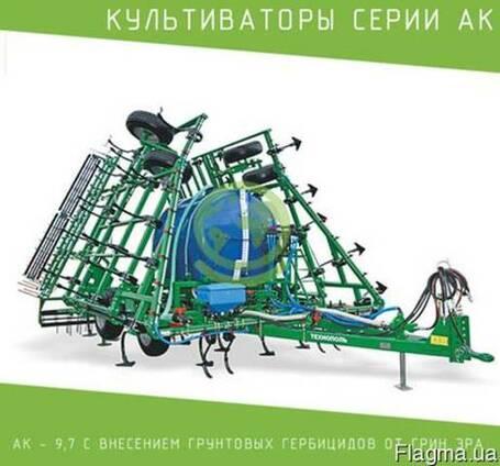 Культиватор серии АК – 9,7 с внесением грунтовых гербицидов