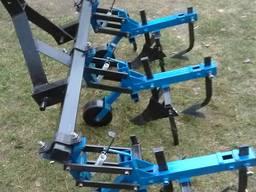Культиватор трьохрядний до мінітрактора (їжаки, окучники, лапи прополювачі)