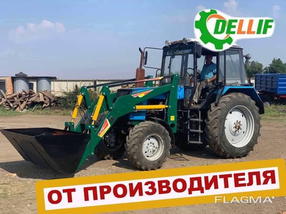 Кун на трактор МТЗ Dellif Light 1200 с ковшом 2 м