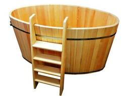 Купель для бани и сауны овальная