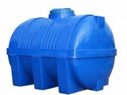 Купить баки для воды пластиковые 750л горизонтальные