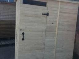 Купить деревянный душ для дачи, душевая кабинка из дерева