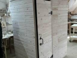 Купить деревянный душ для дачи разборной