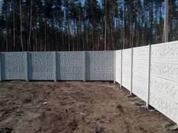 Купить красивый бетонный забор