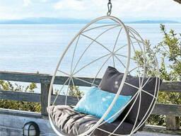 Купити крісло кокон з металу дизайнерський недорого