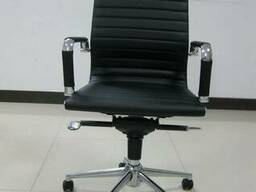 Кресло руководителя Q-04HBM черный, белый купить