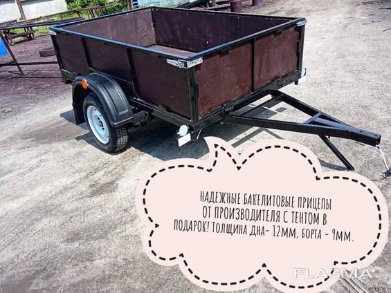 Купить прицеп из бакелитовой фанеры Днепр-200х130 и другие