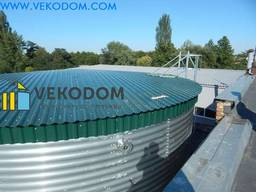 Купить резервуар емкость пожарный рвс 500 м3 вода цена