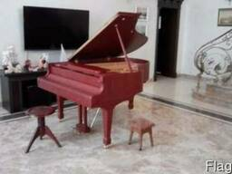 Купить рояль Киев белого , черного, и красного цвета