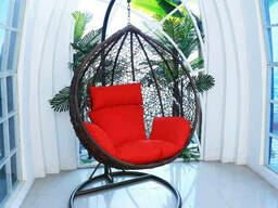Купити садовий крісло кокон куля з ротанга в Чернігові
