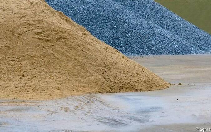 Купить щебень песок отсев в кривом роге
