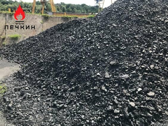 Купить уголь молодой антрацит орех - тощий уголь марка Т