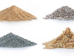 Купить с доставкой в мешках щебень цемент песок отсев земля Усатово