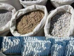 Купить в мешках щебень цемент песок отсев земля Выгода