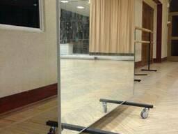 Купить передвижное зеркало для танцевальной студииКиев