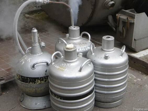 Купить жидкий азот в сосудах Дьюар Харьков .Заправка азотом