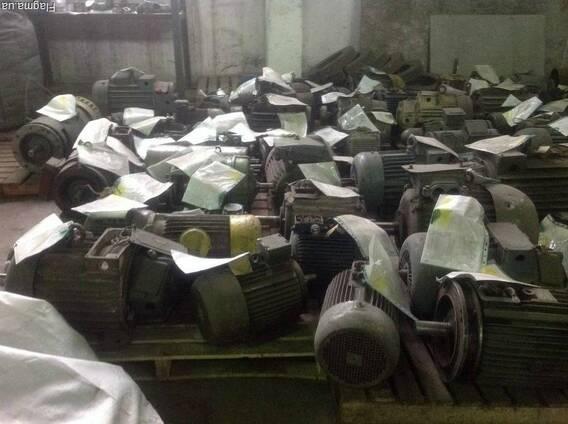 Куплю электродвигатели на лом нерабочие самовывоз по Украине
