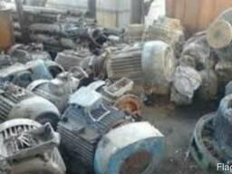 Куплю электродвигатели старые и новые самовывоз