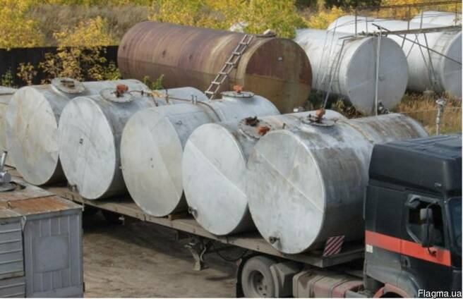 Куплю емкости (резервуары) стальные горизонтальные б/у -3м3,