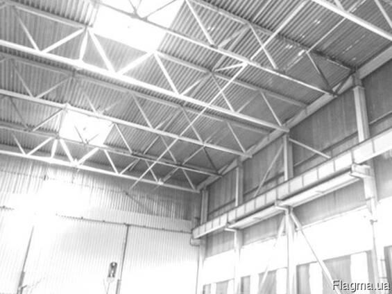 Куплю фермы металлические 15м бу, ангар